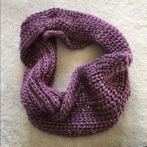 Accessories - Purple sequins infinity scarf
